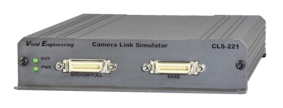 Vivid Engineering CameraLink Simulator